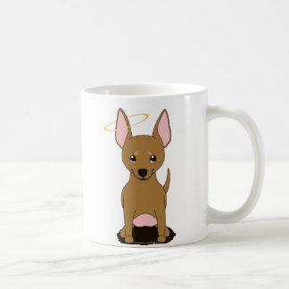 Tan de Halo van de Engel van Chihuahua Koffiemok