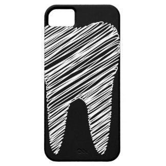 Tand grafisch voor tandarts barely there iPhone 5 hoesje
