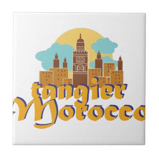 Tanger Marokko Tegeltje
