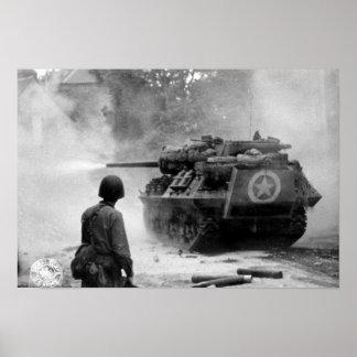 Tank in Actie Poster