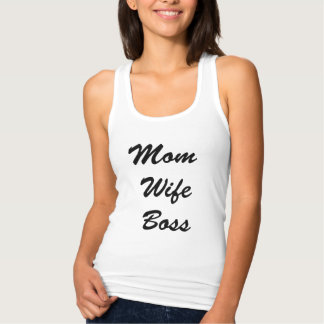 Tank Recerback van de Vrouw van het mamma de Chef-