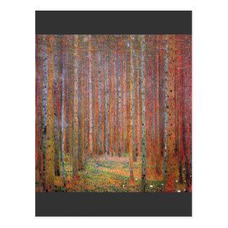Tannenwald I door Gustav Klimt Briefkaart