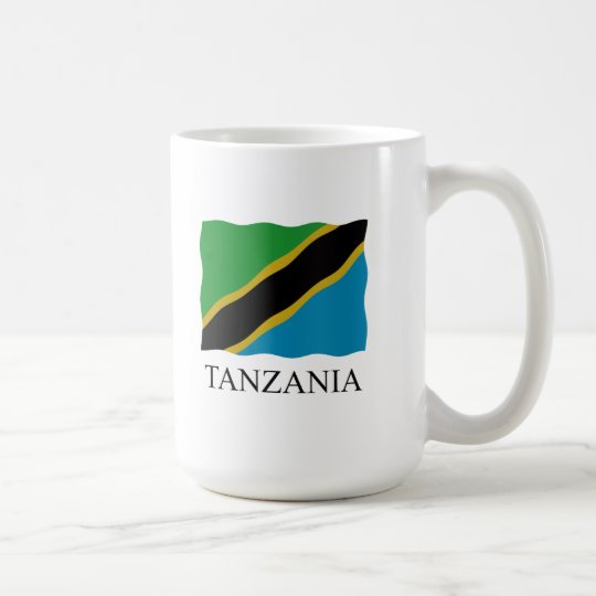 Tanzania flag koffiemok