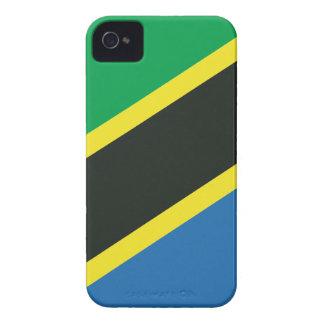 Tanzaniaanse vlag iPhone 4 hoesje