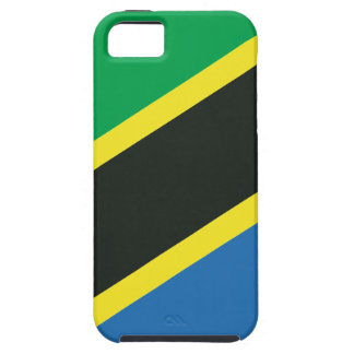 Tanzaniaanse vlag tough iPhone 5 hoesje