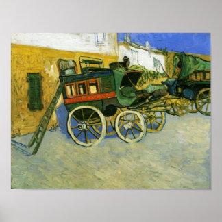 Tarascon Diligence Van Gogh Fine Art. Poster