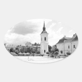 Targu-Mures, Roemenië Ovale Sticker