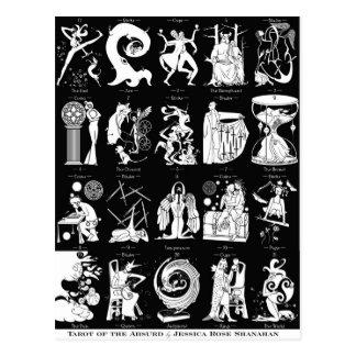 Tarot van Absurd - Briefkaart
