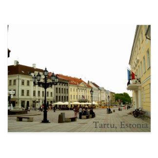 Tartu, het Briefkaart van Estland