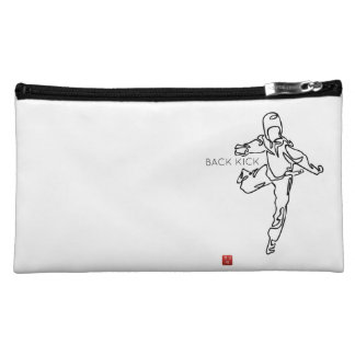 Tas van make-up TAEKWONDO DWICHAGI back kick Make-up Tasje