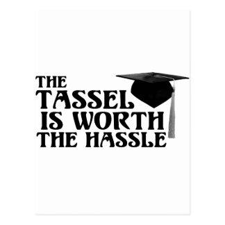 Tassle met een waarde van Hassel Briefkaart