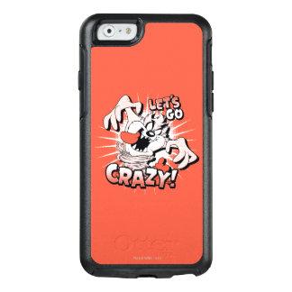 """TAZ™ """"ga Gek!"""" Halftone OtterBox iPhone 6/6s Hoesje"""