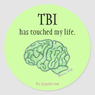 TBI voorlichtingssticker Ronde Sticker