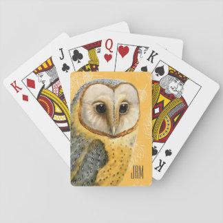 TCWC - de Wijnoogst van de Uil van de Schuur Met Speelkaarten