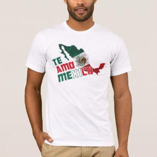 Te Amo Mexico/I houdt van u Mexico T Shirt