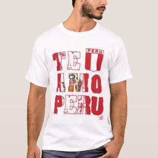 Te Amo Peru (lang/licht) - Etiket InKa1821 T Shirt