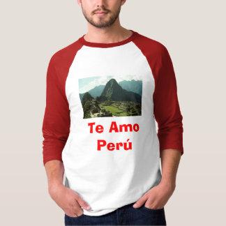 Te Amo Peru T Shirt