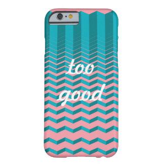 te goede, Roze OceaanZonsondergang Barely There iPhone 6 Hoesje