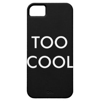 Te Koele het hoesje van IPhone5/Iphone5s Barely There iPhone 5 Hoesje