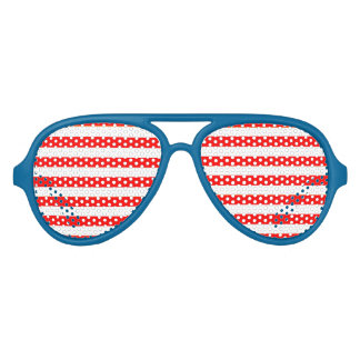 Te Koele Patriottische Hipster de V.S. Feestbril