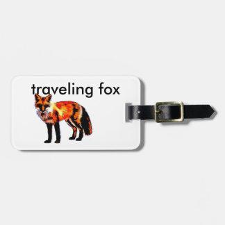te personaliseren de bagagelabel van de voskunst