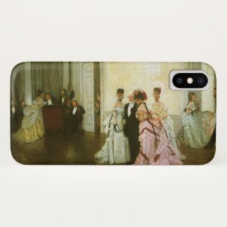 Te vroeg door James Tissot, Vintage Victoriaans iPhone X Hoesje