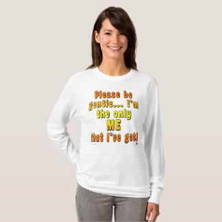 Te zijn het Fundamentele Lange Sleeve van vrouwen T Shirt