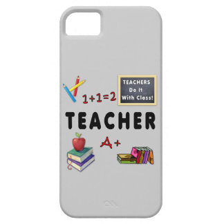 Teachers Do It With Klasse Barely There iPhone 5 Hoesje