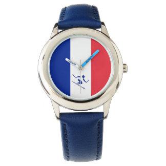 Team Alpien Ski?end Frankrijk Horloge