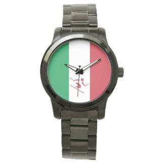 Team Alpien Ski?end Italië Horloge