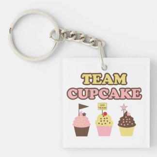 Team Cupcake Keychain Sleutelhangers