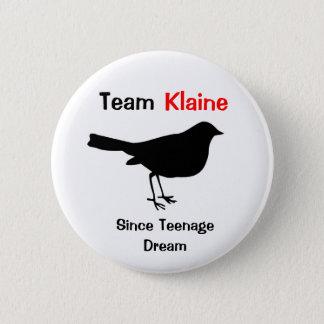 Team Klaine Ronde Button 5,7 Cm