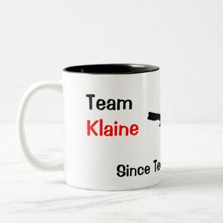 Team Klaine Tweekleurige Koffiemok