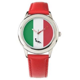 Team Luge Italië Horloge
