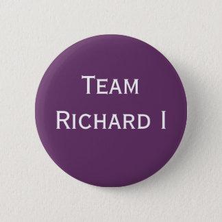 Team Richard I kenteken Ronde Button 5,7 Cm