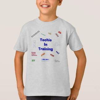 Techie in Opleiding T Shirt