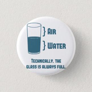 Technisch is het Glas altijd Volledig Ronde Button 3,2 Cm