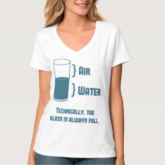 Technisch is het Glas altijd Volledig T Shirt