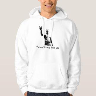 Techno Viking ziet u hoodie