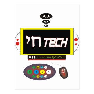 Technologie van Chai Briefkaart