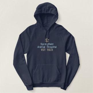 Technologie van de Dierenarts van de Druk van de Geborduurde Sweater Hoodie