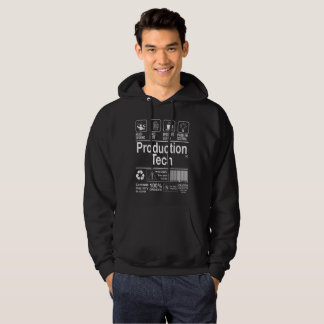 Technologie van de productie hoodie