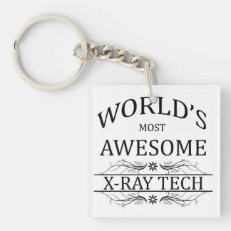 Technologie van de Röntgenstraal van de wereld Mee Sleutelhanger