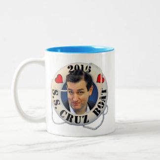Ted Cruz 2016 Tweekleurige Koffiemok