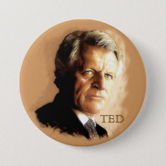 Ted Kennedy Ronde Button 7,6 Cm
