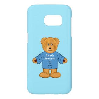 Teddybeer in de Sweater van de Voorlichting van de Samsung Galaxy S7 Hoesje