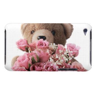 teddybeer met het hoesje van de rozen ipod