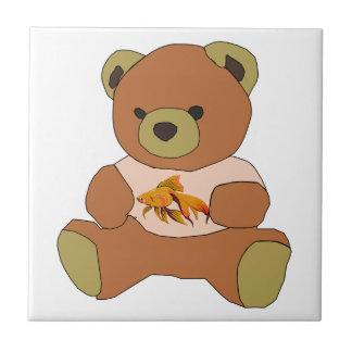 Teddybeer Tegeltje Vierkant Small