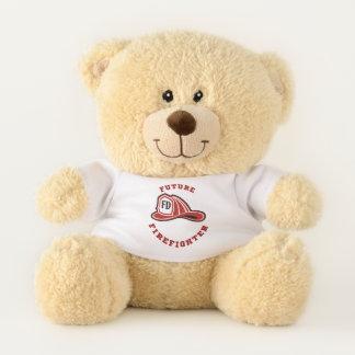 Teddybeer van de Brandbestrijder van de brand Afd.