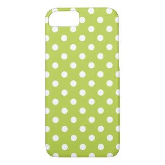 Tedere iPhone 7 van de Stip van Spruiten Groene iPhone 7 Hoesje